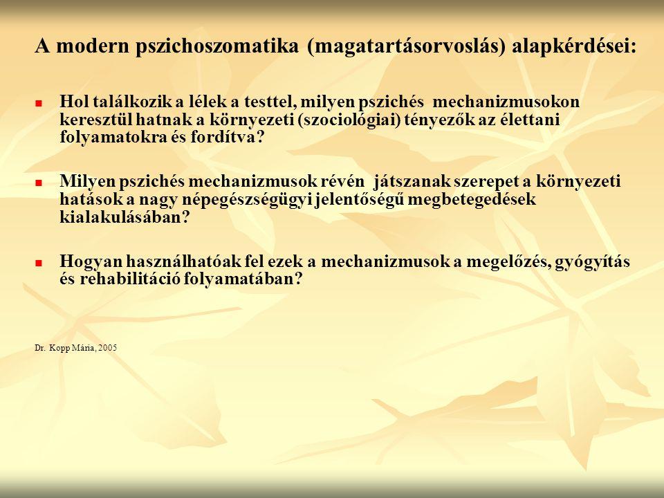 hipertónia a pszichoszomatika szempontjából)