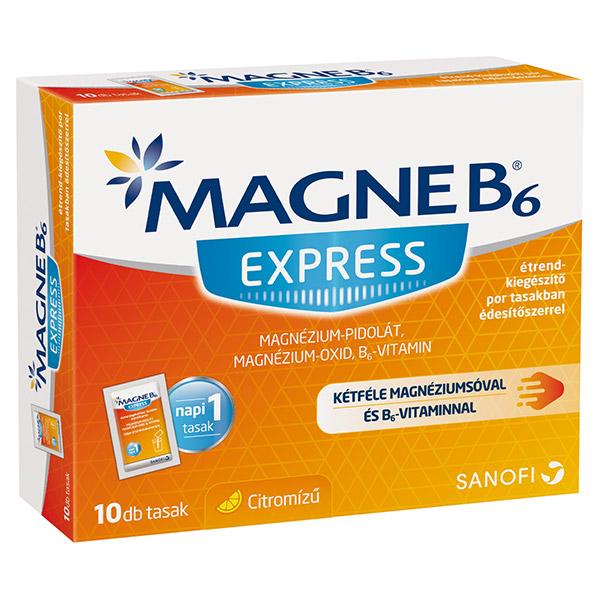 magnézium és b6-vitamin magas vérnyomás esetén