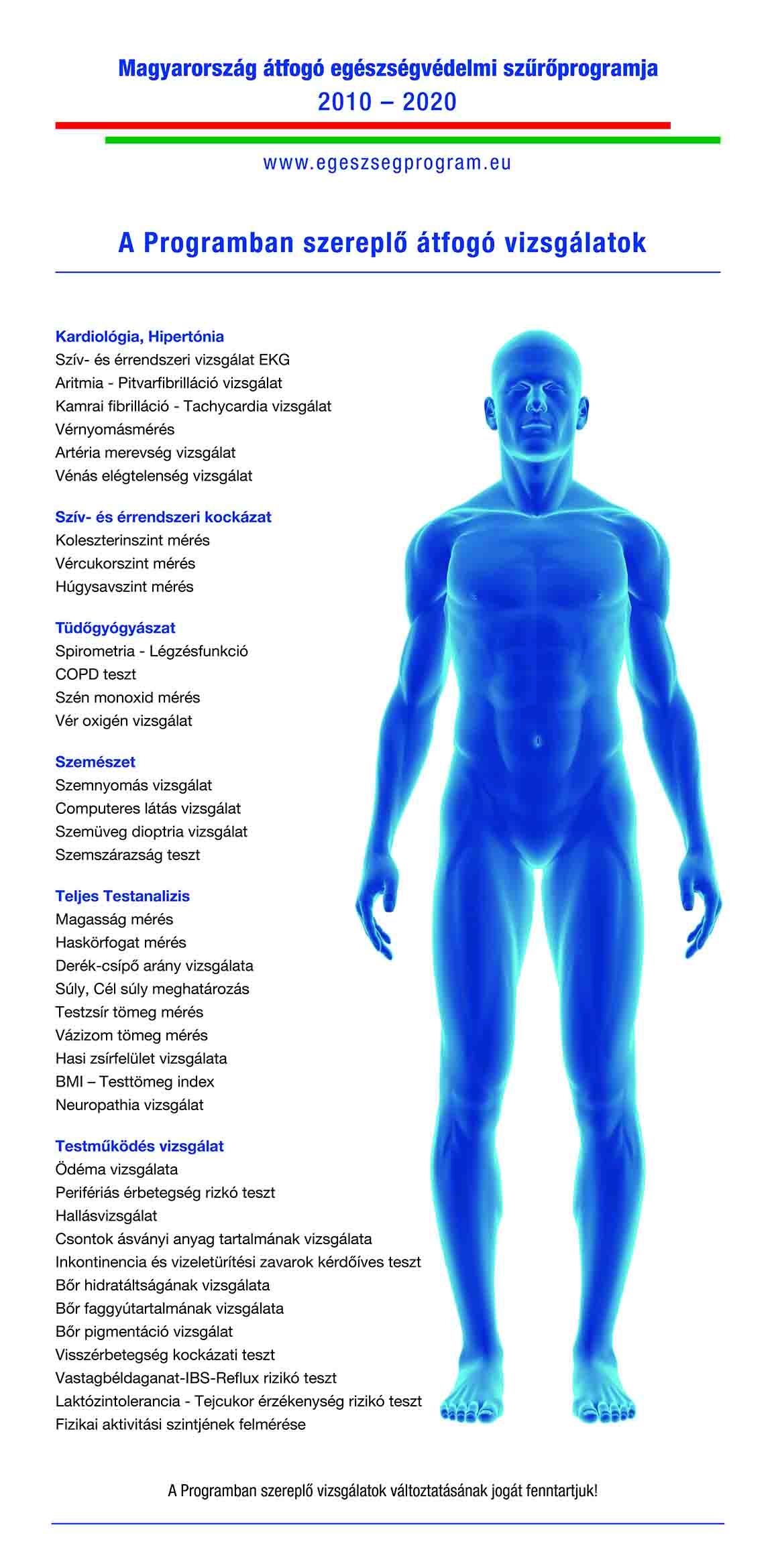 A szívritmuszavarok (arrhythmiák) típusai