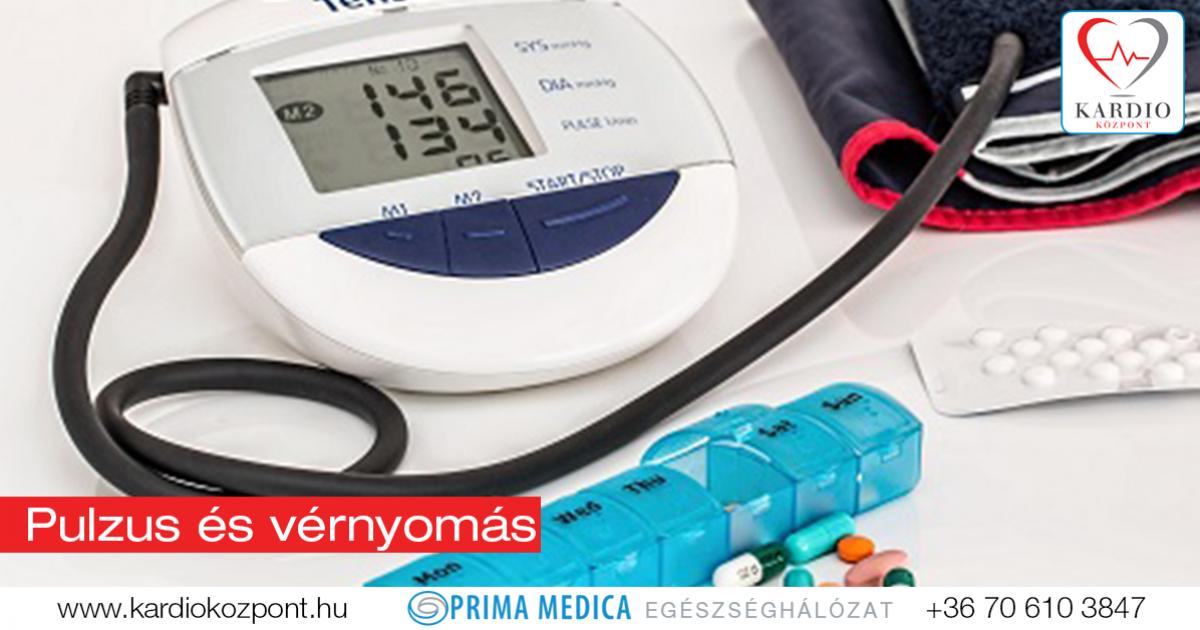 mi legyen a magas vérnyomású pulzus