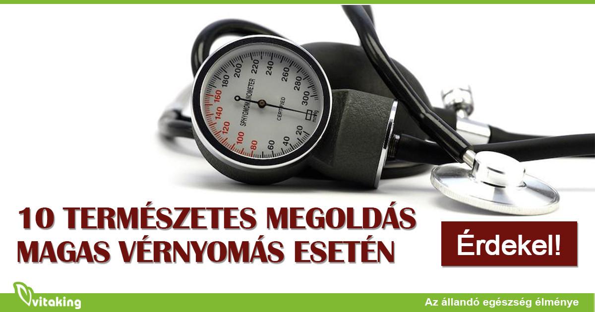 természetes élet magas vérnyomás esetén milyen étrendet kell követni a magas vérnyomás esetén
