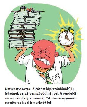 magas vérnyomás és agresszió