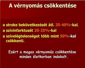 a magas vérnyomás betegségére jellemző)