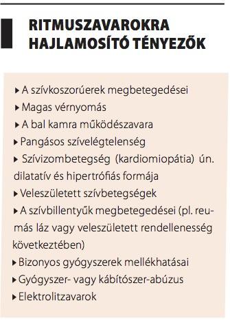 magas vérnyomás és ritmuszavarok)