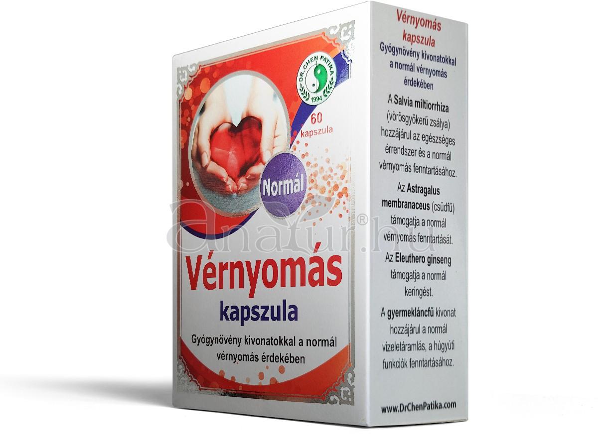 magas vérnyomás elleni kapszulák)