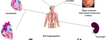 A magas vérnyomás WHO osztályozása