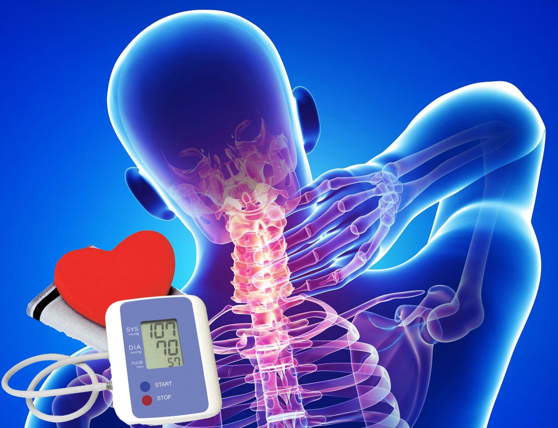 összefüggés a magas vérnyomás és az osteochondrosis között