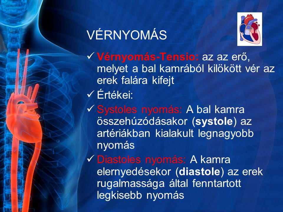 erő gyakorlása magas vérnyomás