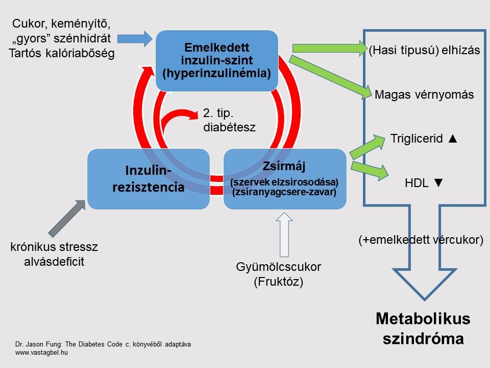 metabolikus szindróma és magas vérnyomás