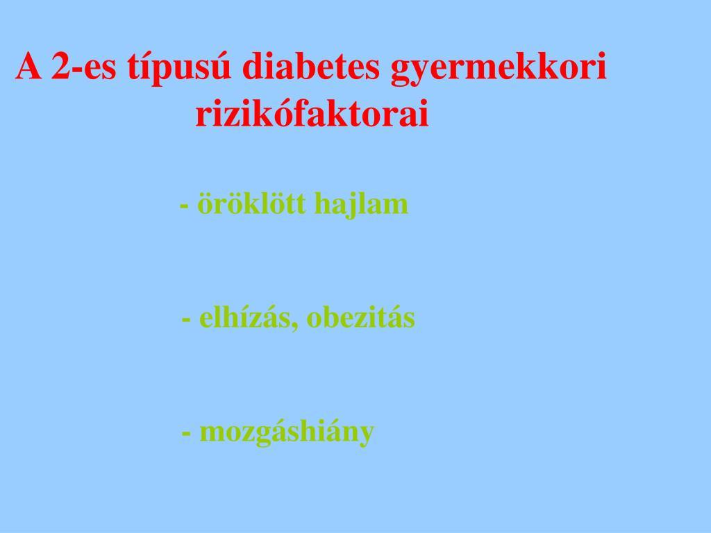 2-es típusú diabetes mellitus típusú 2-es típusú hipertónia