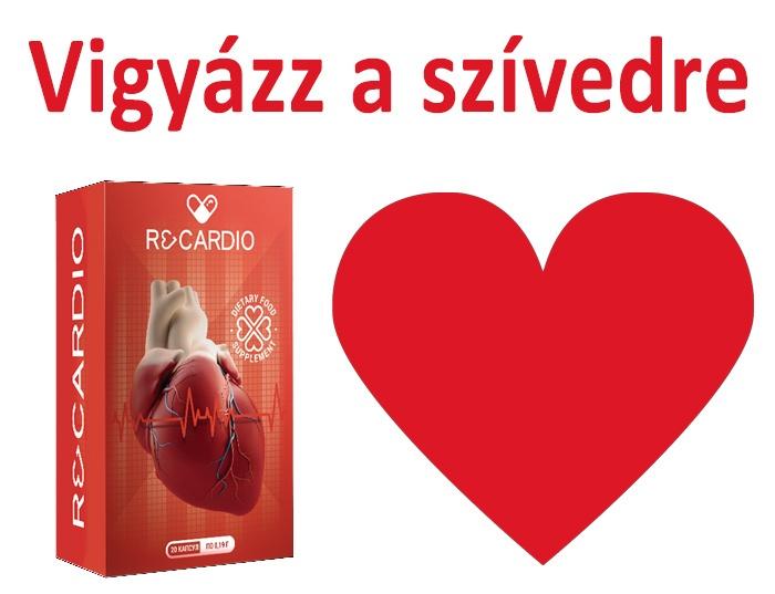 a magas vérnyomásban szenvedő szív számára