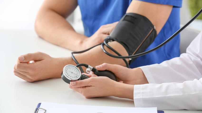 a korábban kezelt magas vérnyomás