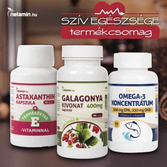 magas vérnyomású vitaminok a szív számára