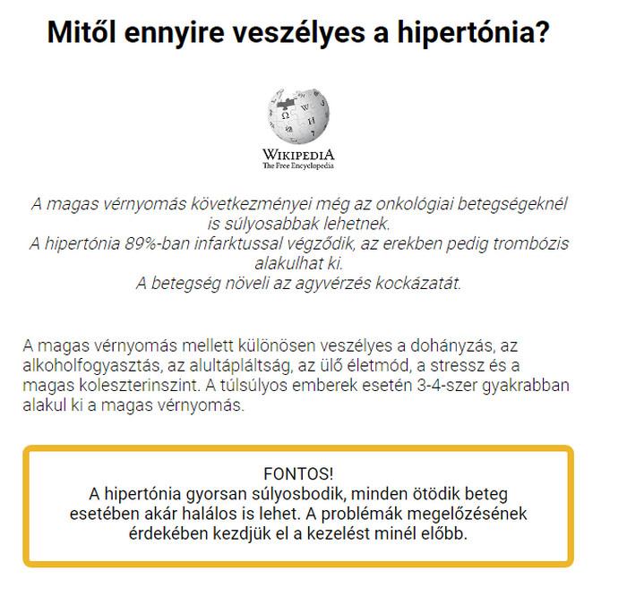 Hipertónia fórum lehetséges-e magas vérnyomással lengeni