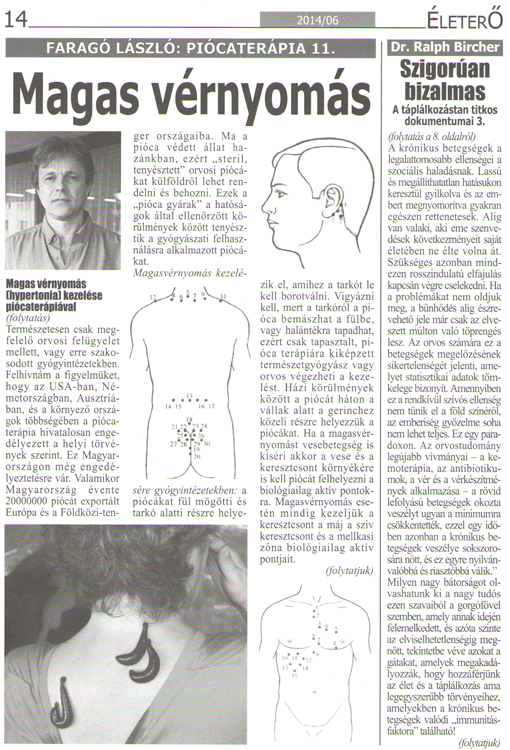 magas vérnyomás piócák előtagja)