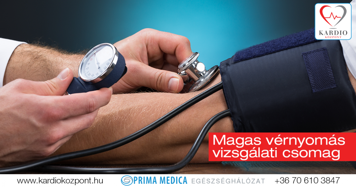 magas vérnyomás orvosi központ kezelése