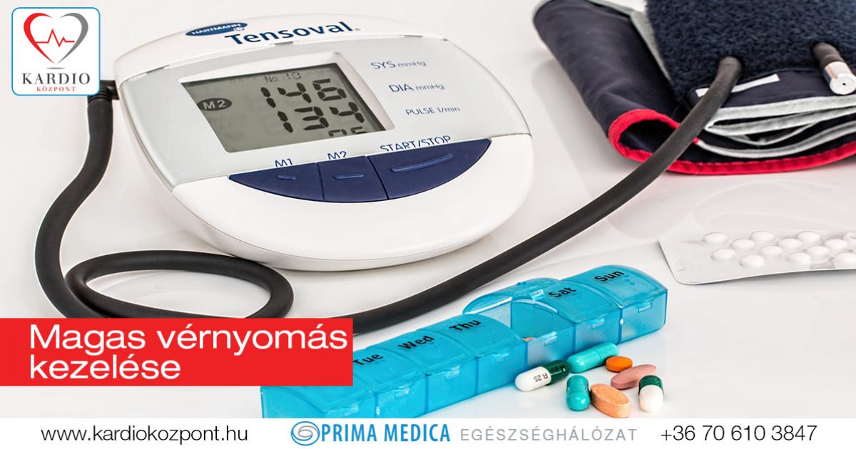 gyógyszeres kezelés magas vérnyomás esetén)
