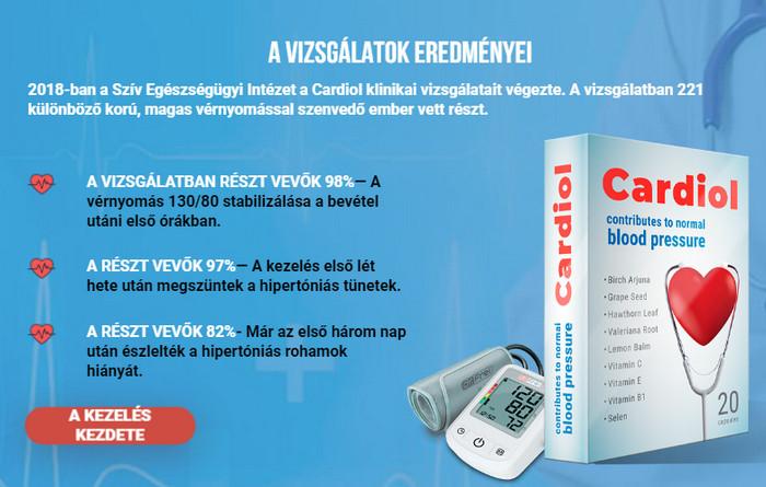 Intézet a magas vérnyomás kezelésére)