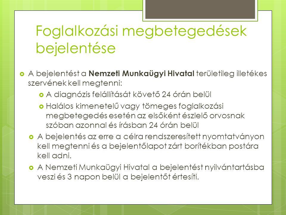 magas vérnyomás foglalkozási betegség)