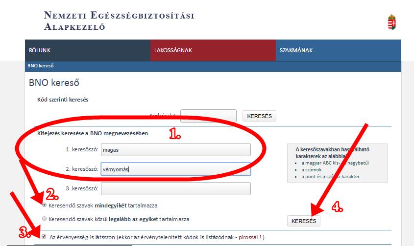 magas vérnyomás betegség kódok)