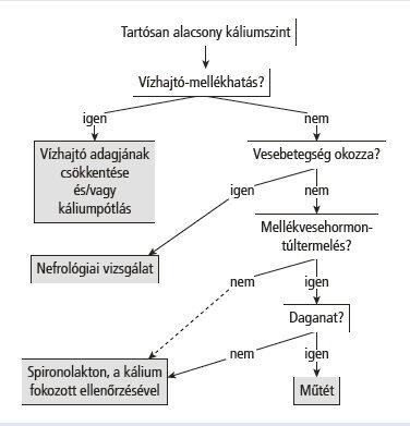 nátrium-kálium hipertónia)