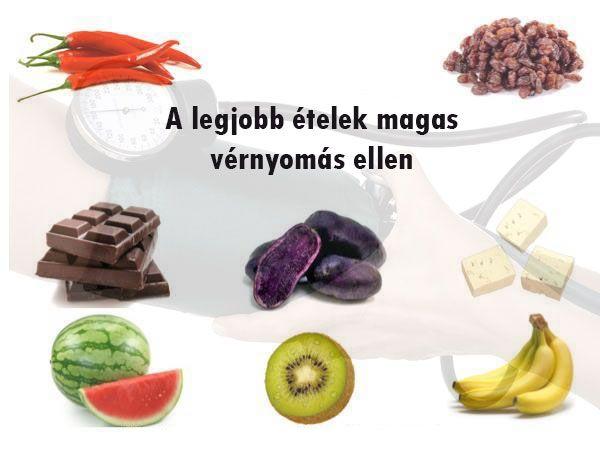 egészséges receptek a magas vérnyomás ellen