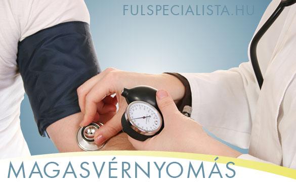 magas vérnyomás tinnitus)