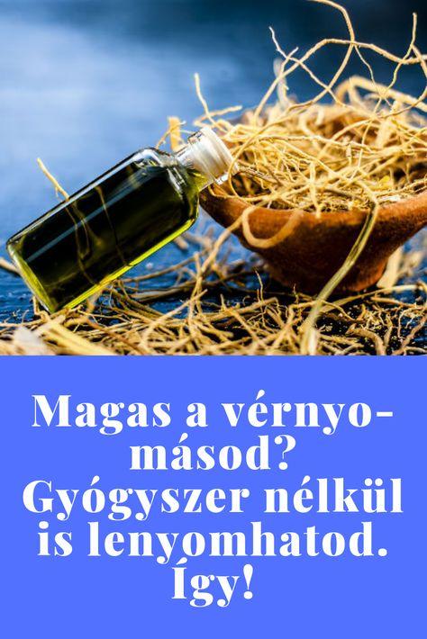 gyógyszeres kezelés nélkül megszabadulni a magas vérnyomástól)
