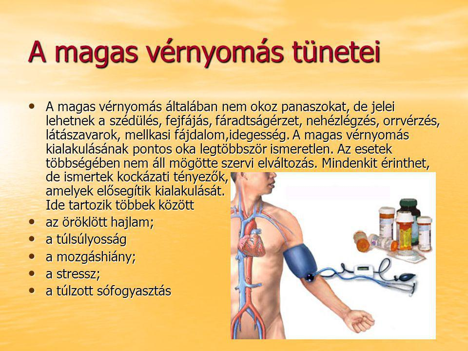 magas vérnyomás általában)