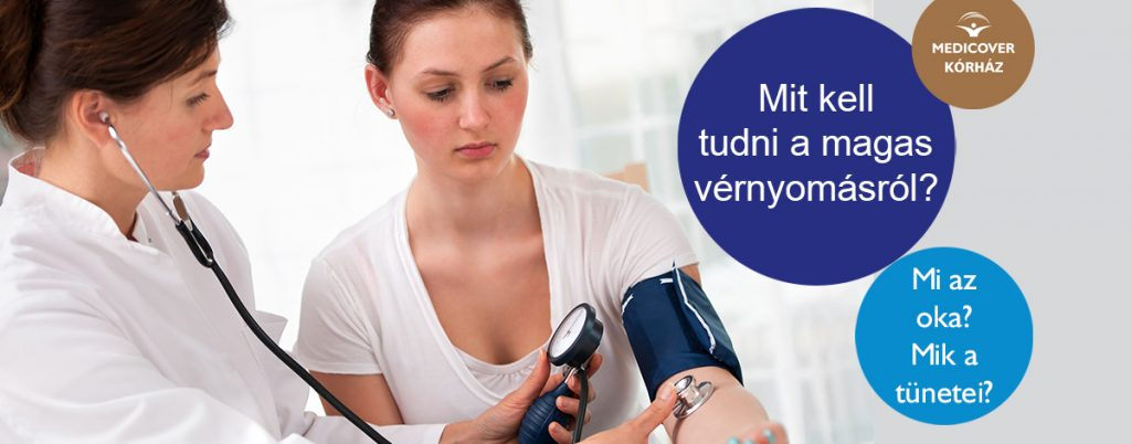 magas vérnyomás nyomás és