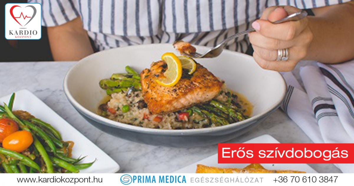 hipertóniával fogyasztható ételek)