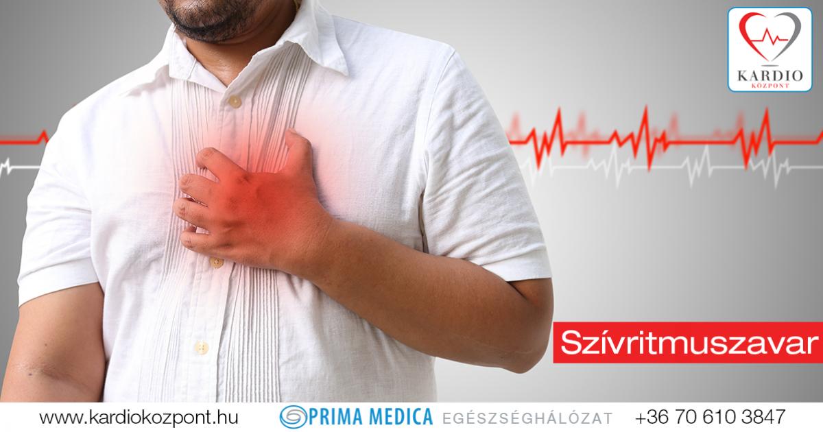 szívritmuszavar magas vérnyomás esetén túlsúlyos, magas vérnyomásban
