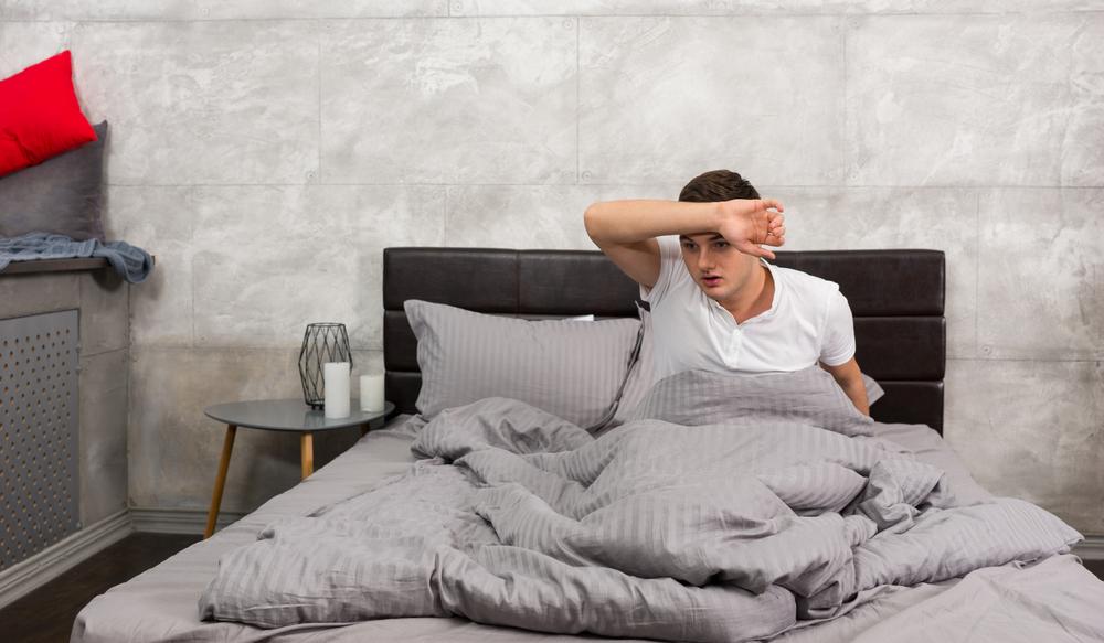 magas vérnyomás és izzadás éjszaka