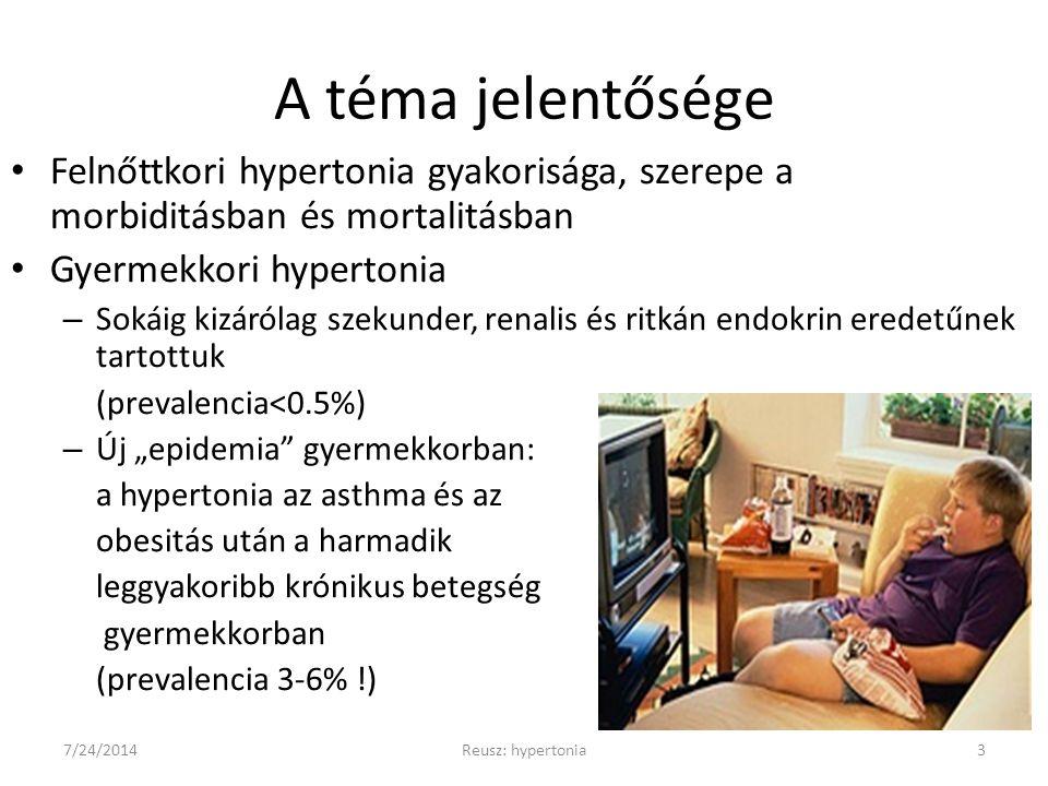 vaszkuláris hipertónia gyermekeknél