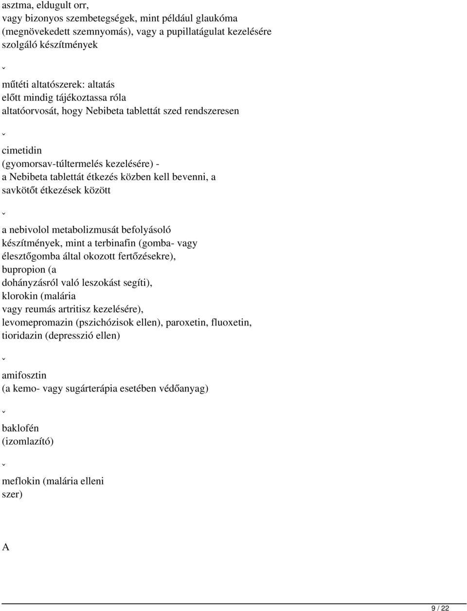 PROZAC 20 mg/5 ml belsőleges oldat