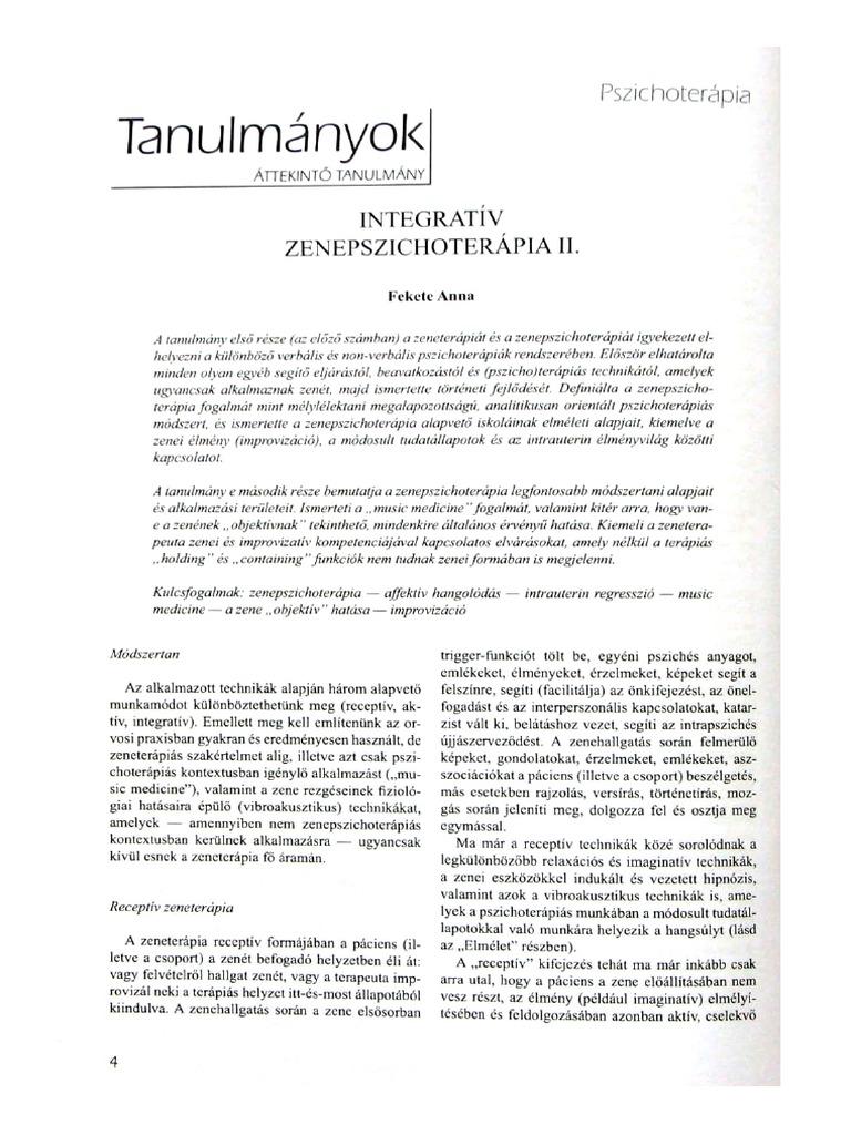 vese vibroakusztikus terápia)