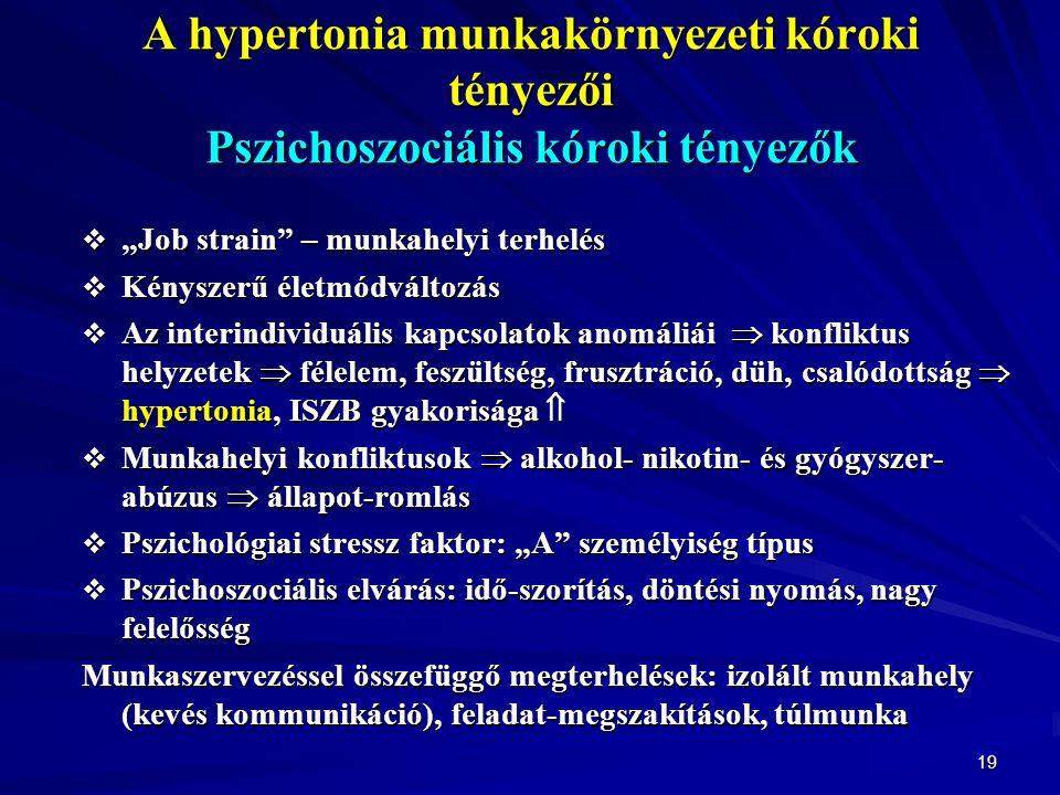 a hipertónia foglalkozási betegség)