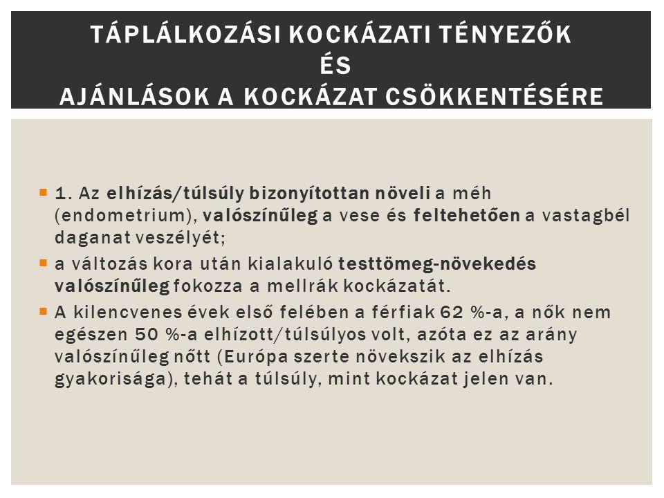 táplálkozási ajánlások magas vérnyomás esetén)